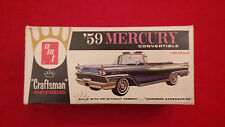 "AMT - '59 Mercury Convertible ""Craftsman"" Series - Model Kit # 4012-100 - RARE!"