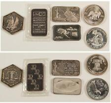 New listing Six One Ounce Silver Pieces Lot 2133
