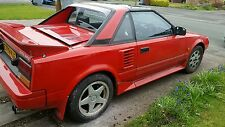 MR2 mk1 toyota parting  spare sales break worldwide shipping corolla aw11 4age