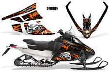 SIKSPAK Arctic Cat F Series Sled Wrap Snowmobile Stickers Decals REBIRTH ORANGE