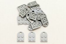 Lego 20 Pieces 3176 Plate 3 x 2 with Hole Parts OldGrey Grey Lot