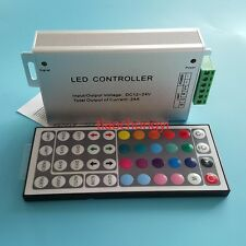 DC 12V 24A 288W 44key IR Remote Controller Control RGB 3528 5050 SMD LED Strip
