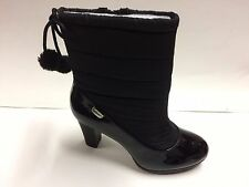 NEW Anne Klein Women's Xhale Fabric Winter Boot  Black Size 8 M