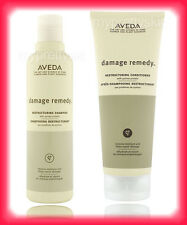 AVEDA DAMAGE REMEDY RESTRUCTURING SHAMPOO 8.5 OZ & CONDITIONER 6.7 oz. HAIR NEW