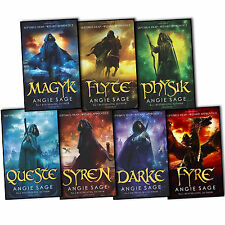 Septimus Heap Angie Sage 7 Books Collection Set Pack (Wizard Apprentice Series)