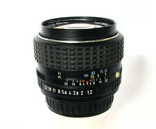 SMC Pentax 50mm 1:1.2 Super Fast  Lens With Pentx UV Filter
