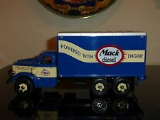 FIRST GEAR MACK L SERIES DIESEL DRY GOODS VAN NEW IN ORIGINAL BOX