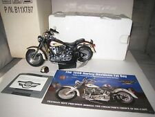 Franklin Mint;1:10 1998 Harley Davidson Fat Boy; 95th Anniversary Ed.;All Papers