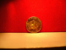 very rare 24CT GOLD ON  lucky zodiac star sign Somaliland coin. Pisces
