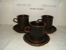 ARABIA RUSKA   SALE WITH EXTRA DISCOUNT 70 X  COFFEE CUPS+ SAUCERS*****