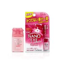 Rohto Lycee NANO EYE Clear Shot Eye Drops Medicated 6ml New Japan