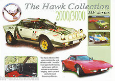 Prospekt Hawk HF 2000 3000 2000 gb brochure auto folleto auto turismos folleto