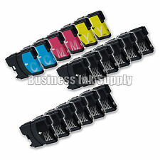18++ PK New LC61 Ink Cartridge for Brother Printer MFC-490CW MFC-J415W MFC-J615W