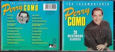 CD 724 THE INCOMPARABLE PERRY COMO