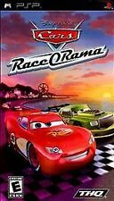 Disney CARS - RACE-O-RAMA rare PLAYSTATION PORTABLE GAME PSP Complete vg Kids