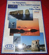 French-English Booklet La Gaspésie le Bas-Saint-Laurent et la Côte-Nord ! 2000