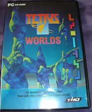 Tetris Worlds PC CDROM Game Used Retro Computer Video Game