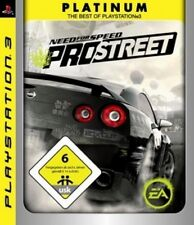 Playstation 3 NEED FOR SPEED PRO STREET Prostreet Platinum TopZustand