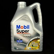 10L (2x5L) Mobil SUPER 3000 XE 5W-30 5 Liter - MB, BMW, FORD, GM, VW