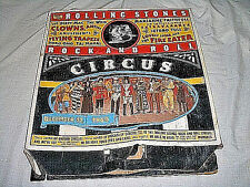 ROLLING STONES - 3D STORE DISPLAY - ROCK & ROLL CIRCUS - 1995 ABK CO.