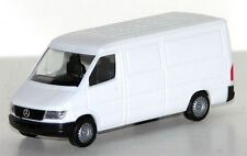 WHITE MERCEDES BENZ SPRINTER VAN PROMOTEX 1/87 Plastic Truck HO Scale
