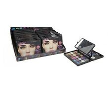 GLAMOUR CONNECTION 39 COLOURS MAGICAL WINKING EYE FOLD MIRROR COSMETIC MAKEUP KT