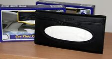 NIB  TEMPO CAR VISOR TISSUE KIT ~BLACK~REFILL WITH  MOST 2/3 PLY FACIAL TISSUES