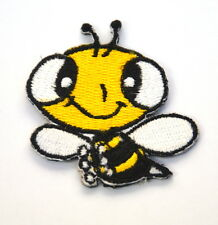 BEE WASP VESPA HORNET Embroidered Iron Sew On Cloth Patch Badge  APPLIQUE