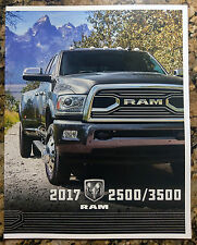 2017 Dodge Ram 2500 3500 Original Sales Brochure Catalog NEW