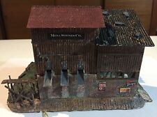 Beautifully Weathered and customized n Scale building