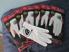 CALLAWAY DAWN PATROL LEATHER GOLF GLOVES SIZE SMALL 6 NEW MENS