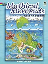 Mythical Mermaids Coloring Book by Marty Noble (2011, Paperback)