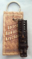 "Ancient Hawaiian""Akua Ka'ai Tiki"" Keychain/Charm Decorative Collectible Souvenir"
