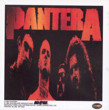 PANTERA - RED - STICKER/DECAL - BRAND NEW VINTAGE - MUSIC BAND 067