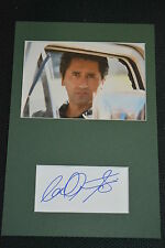 CLIFF CURTIS signed Autogramm 20x30 In Person Passepartout FEAR THE WALKING DEAD
