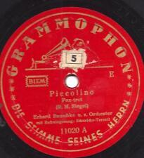 Schuricke-Terzett + Orchester Erhard Bauschke : Piccolino + Es war ein Mädchen u