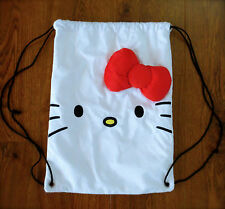 Loungefly Hello Kitty Cinch Bag Backpack w/ Red Bow
