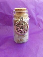 Witch Bottle spell Kit for Luck and Good fortune. Magical Herb Spell Talisman