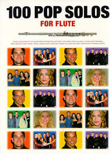 100 Pop Solos for Flute Sheet Music Book Learn to Play POP BEATLES ABBA SONGS