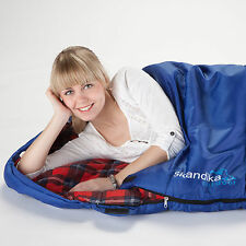 SKANDIKA ABERDEEN MUMMY SLEEPING BAG LONG EXTREME TO -20°C RRP £65 LEFT NEW