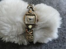 Swiss Made Wakmann Wind Up Ladies Watch with a Stretch Band - Not Working