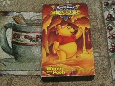 ~WINNIE POOH AND THE HONEY TREE~MINI CLASSICS VHS VIDEO PIGLET RABBIT OWL GOPHER