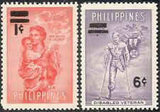 Philippines 1959 Disabled/Health/WWII/Medical/Liberation 2v o/p (n29025)