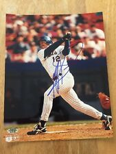 JEFF KENT TOUGH NEW YORK METS SIGNED AUTOGRAPH 8x10 PHOTO WITH HOLO COA