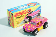 1970 Matchbox Superfast - No MB 30 / 2 Beach Buggy - Lesney Prod. OVP