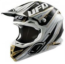 UFO Warrior H1 Trail MX Helmet - Motocross Enduro - Black/Adult Medium