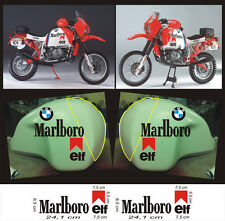 adesivi Marlboro serbatoio BMW Paris Dakar  - adesivi/adhesives/stickers/decal
