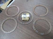 NOS Yamaha Clutch Plates #1 YZ250 YR2 YR1 XS650 XJ700 TZ250 168-16324-00 QTY5