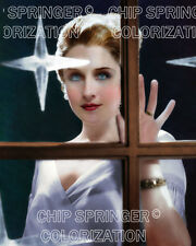 NORMA SHEARER in a Window of Stars | Beautiful 8x10 COLOR PHOTO by CHIP SPRINGER