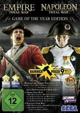 Total War Empire y Napoleón GOTY Edition + DLC estrenar